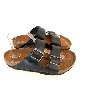 BIRKENSTOCK Arizona black slip on sandal -9